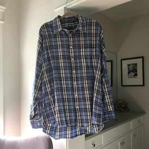 Burberry Men's Long Sleeve Dress Shirt